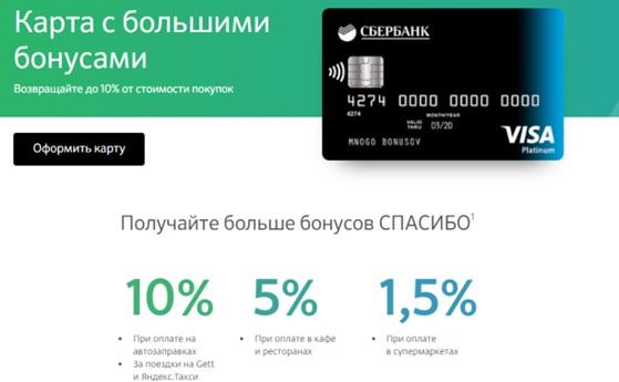 со скольки лет можно взять кредитную карту сбербанка